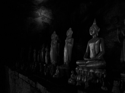 buddhas in the darkness