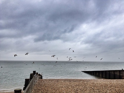 Rainy Day at Whitstable, Kent