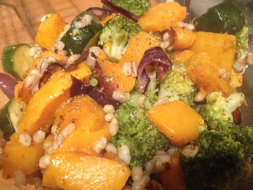 Butternut Squash, Broccoli & Barley Salad