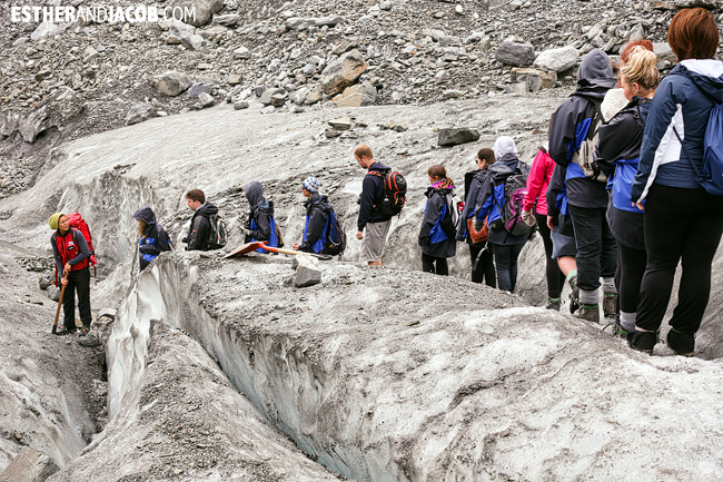 Fox Trot Fox Glacier   Glacier Hiking in South Island New Zealand