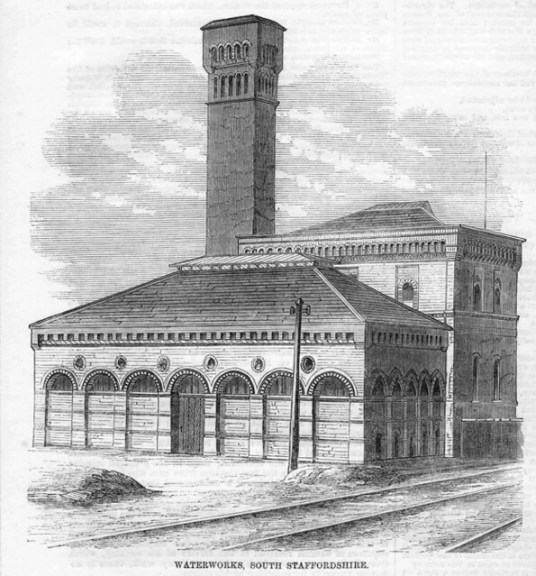 Sandfields Waterworks 1859