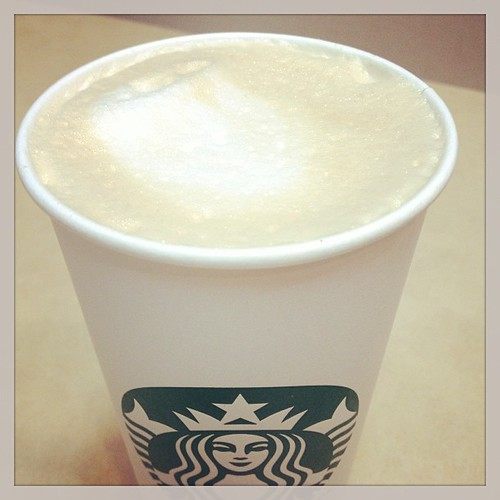 Mar 11 - 'L' {latte} mmmm #photoaday #starbucks
