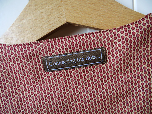 Girl's tunic -  label