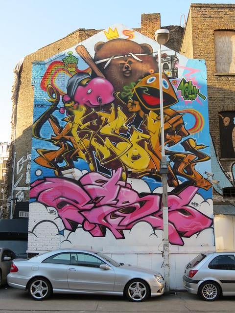 Inkfetish & 40HK, Leonard Street