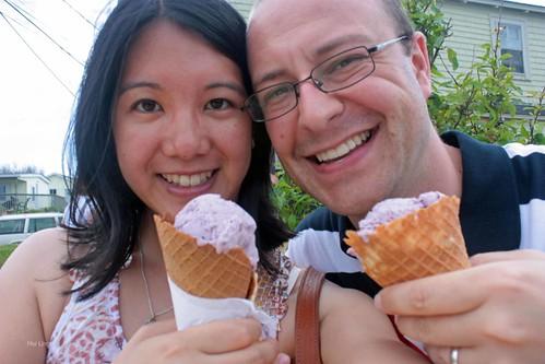 Peggy's Cove ice cream