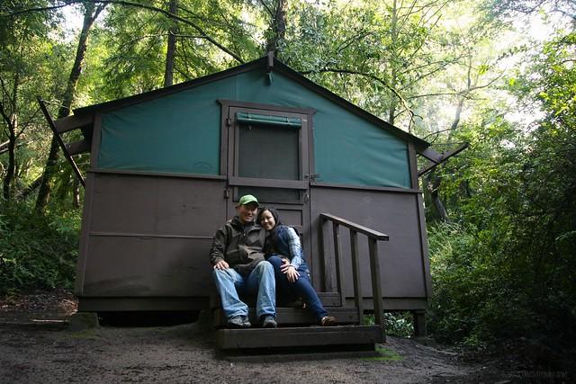 big basin redwoods state park cabin