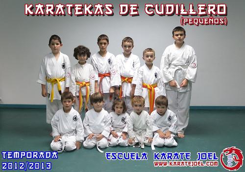 Karatekas de Cudillero (pequeños)