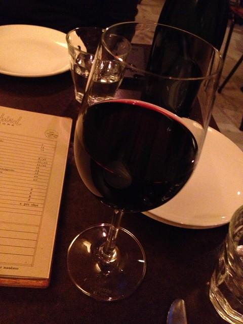 Mencia wine - State Bird Provisions