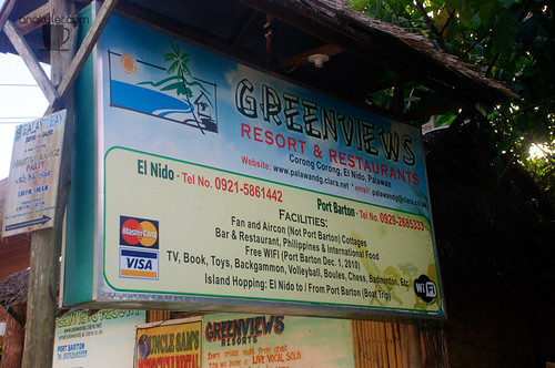 Greenviews Resort, Corong-Corong, El Nido, Palawan