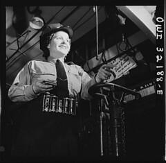 A Woman Conductor Washington DC: 1943