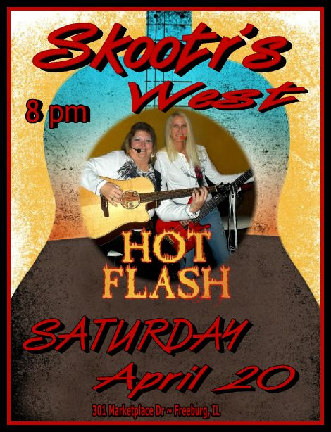 Hot Flash 4-20-13