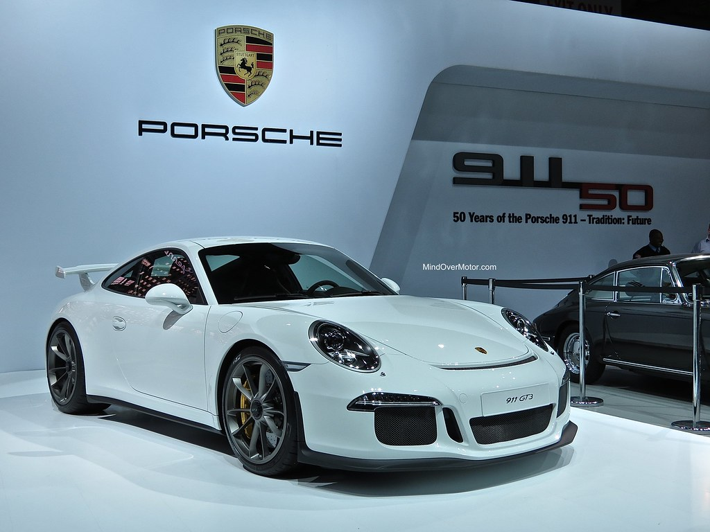 2014 Porsche 991 GT3 at NYIAS