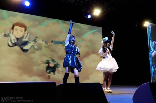 Haruna & Aoi LIVE AT SAKURA-CON 2013