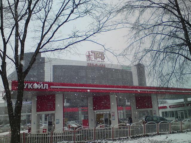 Апрельский снег // April snow