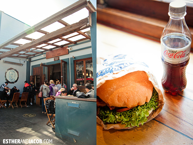 Fergburger Tropical Swine Burger Queenstown | Day 4 New Zealand Sweet as South Contiki Tour | A Guide to South Island