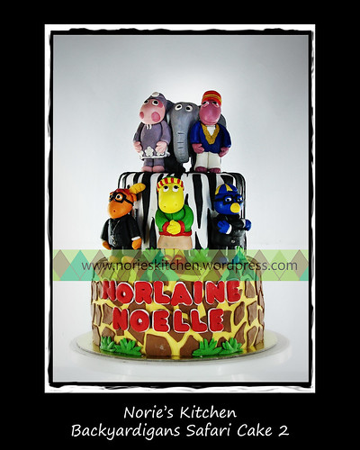Norie's Kitchen - Backyardigans Safari Cake 2 by Norie's Kitchen