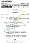 UPTU B.Tech Question Papers - TAS-202/CY-201 - Chemistry