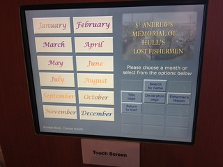Maritime Museum Interactive Touch Point