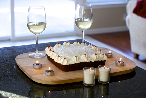 A delightful dessert for lovers