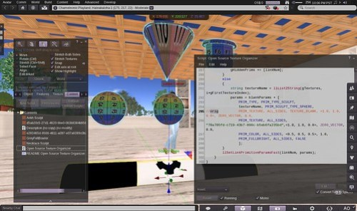 Open Sim Scripting Fun