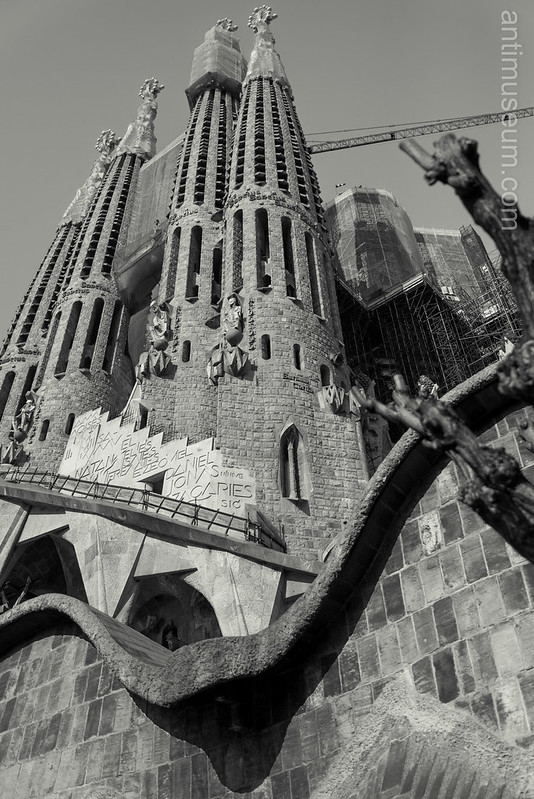 La Sagrada Familia (South façade)