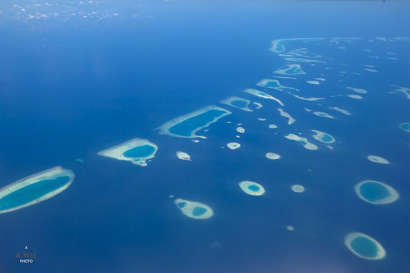 Ocean Landscape of the Maldives