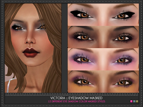 Victoria Eye Shadow Masked