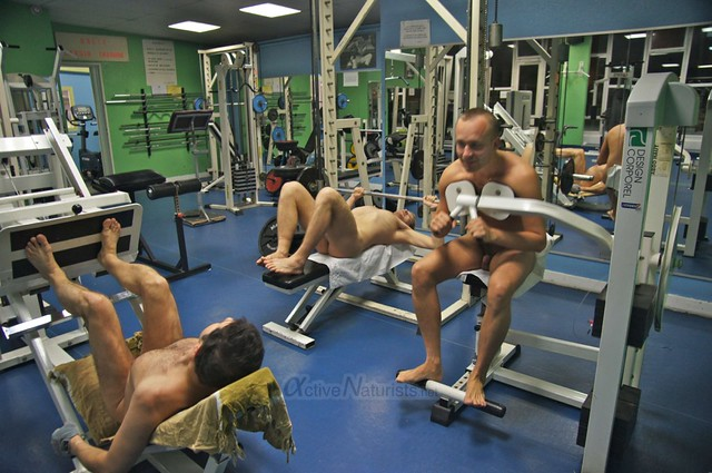 naturist 0000 Gym of Association Naturiste de Paris, Paris, France
