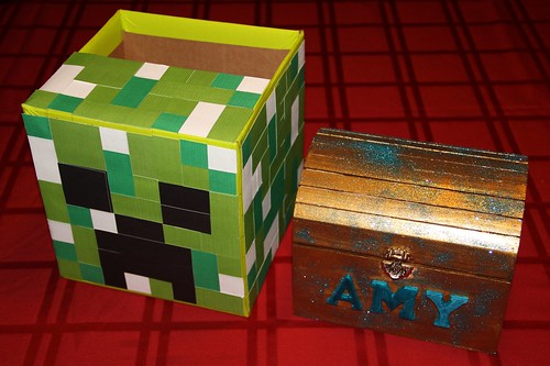His & Hers Valentine boxes
