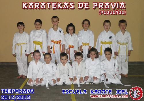 Karatekas de Pravia (pequeños)