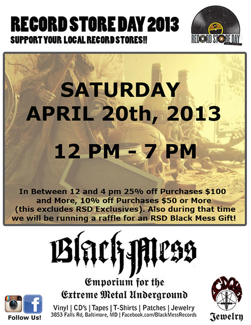 Black Mess Record Store Day