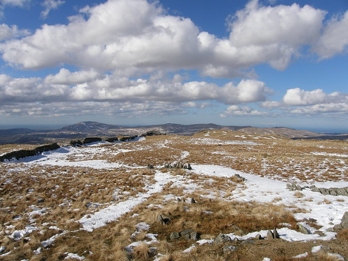 The 'ridge' to White Pike