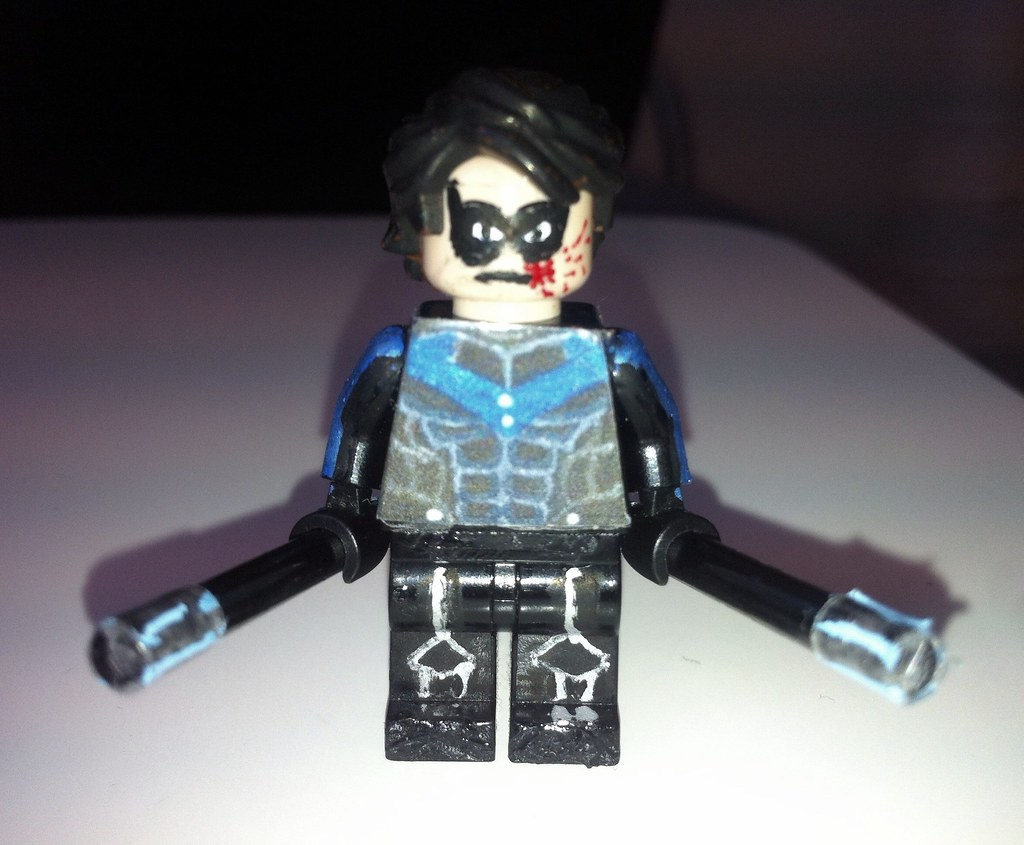 lego nightwing colouring pages page 2