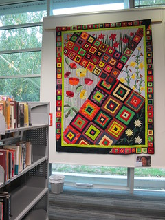 Migrant Quilt Group exhibition at South Library