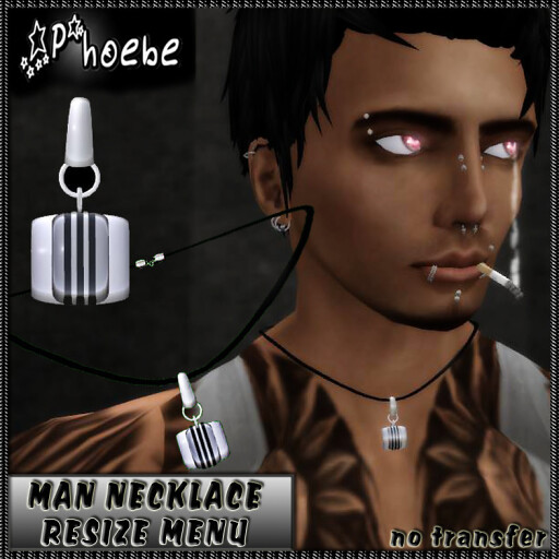 [$10L PROMO] _P_ Witches Brew Necklace ~Man~