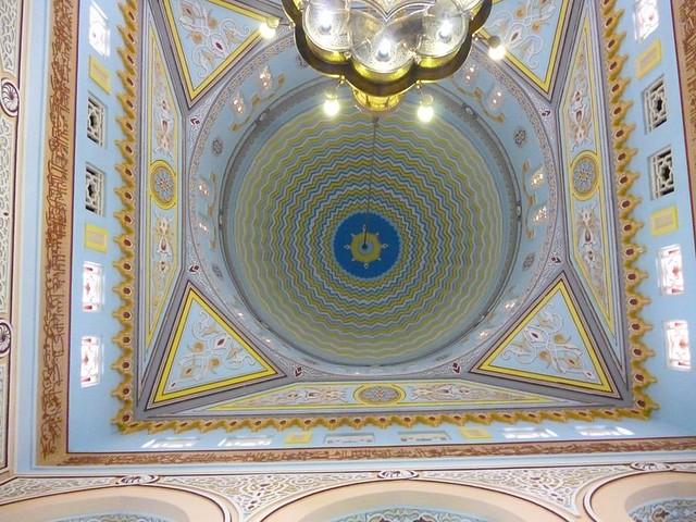 Inside of Jumeriah Mosque