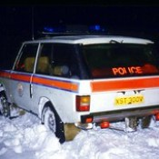 Northern Constabulary early livery - Range Rover