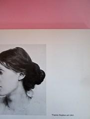 Virginia Woolf, di John Lehmann, La tartaruga edizioni, 1983. Art Director Sergio Calatroni. Pag. 15. (part.), 1