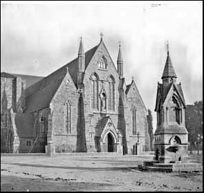 fountain and cathedral c.1870