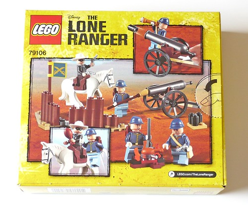 The Lone Ranger 79106 Cavalry Builder Set box02