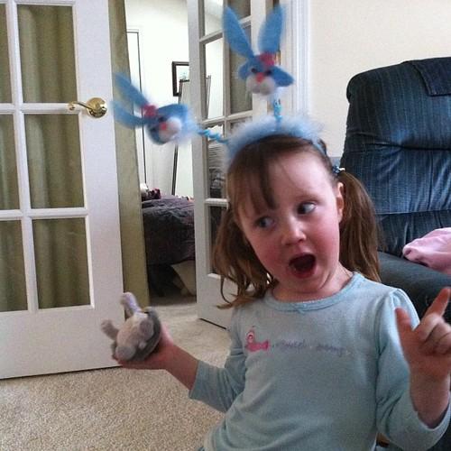 #goof with #bunny ears