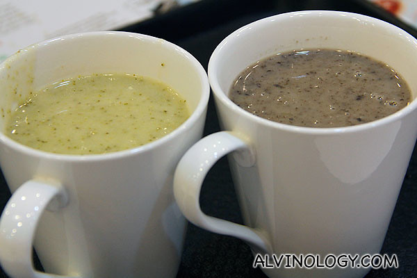 One-for-one cup soup at Saybons