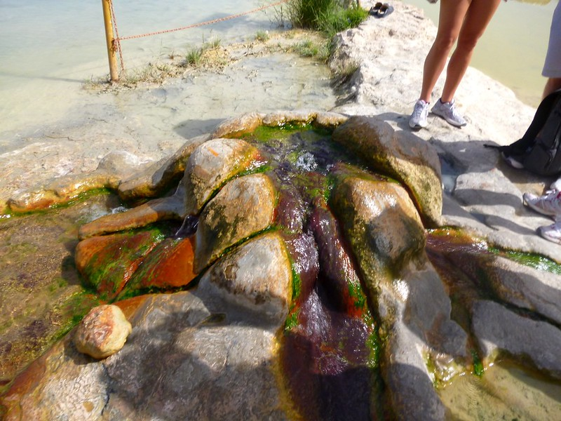 Red hot spring
