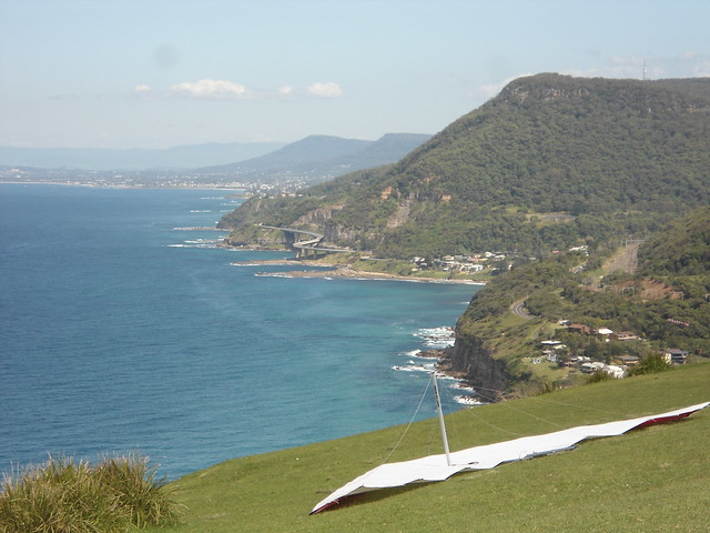 View Towards the Sea Cliff Bridge
