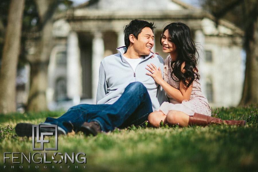 Di & Junjian Engagement Session | Emory University & Lullwater Park | Atlanta Chinese Korean Wedding Photography