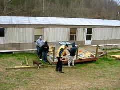 porch railing project