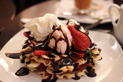 Swedish Waffle @ Kula Cafe