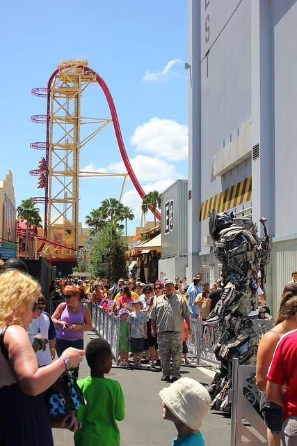 Megatron at Universal Studios Florida