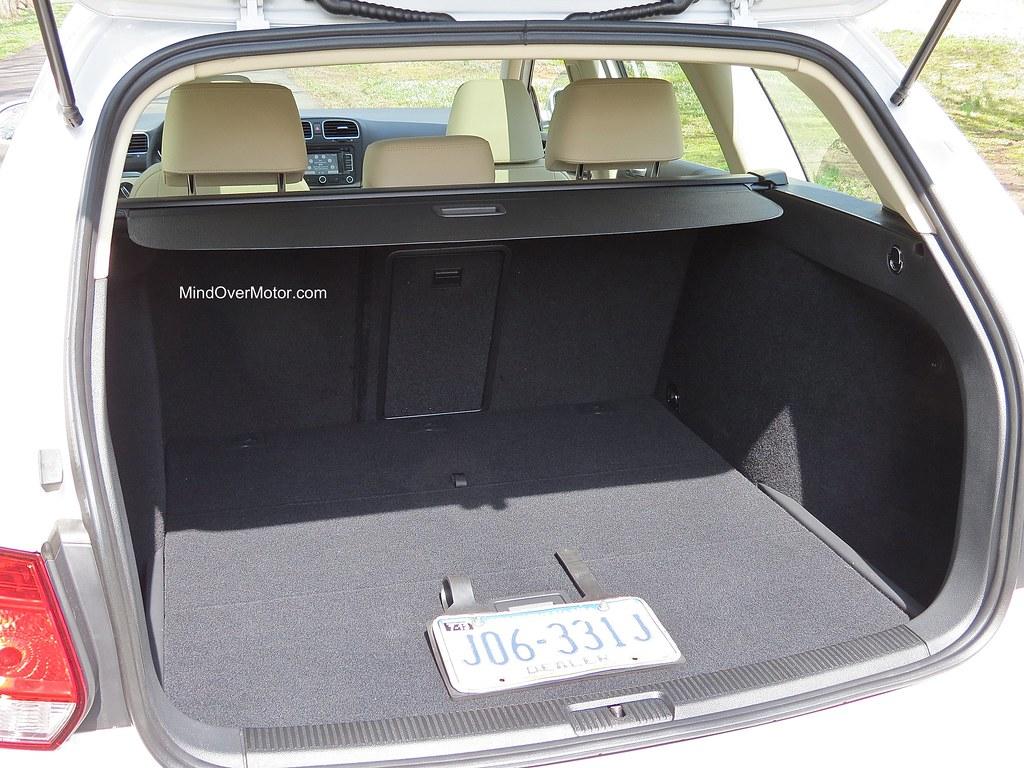 2013 VW Jetta Sportwagen TDI Trunk