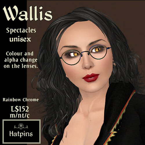 Wallis Spectacles - Rainbow Chrome